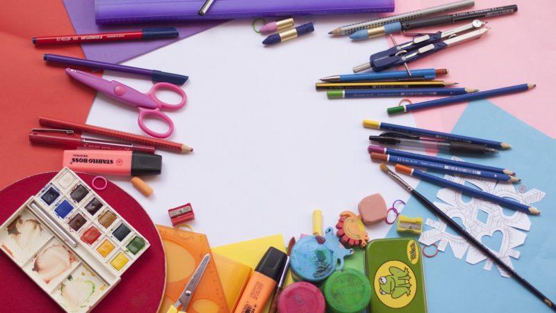 Material escolar por edades
