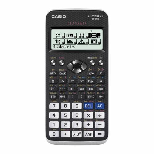 CALCULADORA CASIO CIENTIFICA FX 570SPX II