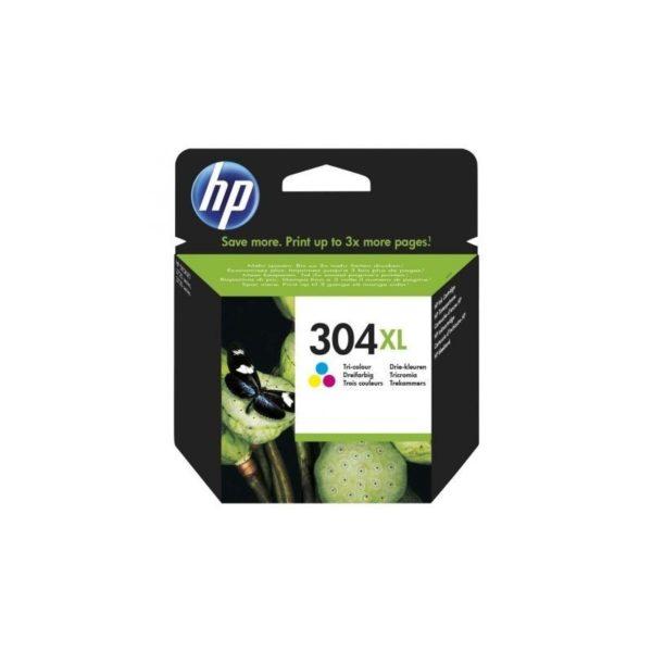 HP CARTUCHO 304XL TRICOLOR  300 PAG.